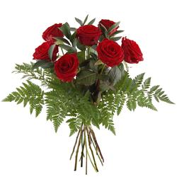 Bukiet 7 czerwonych róż Telekwiaciarnia